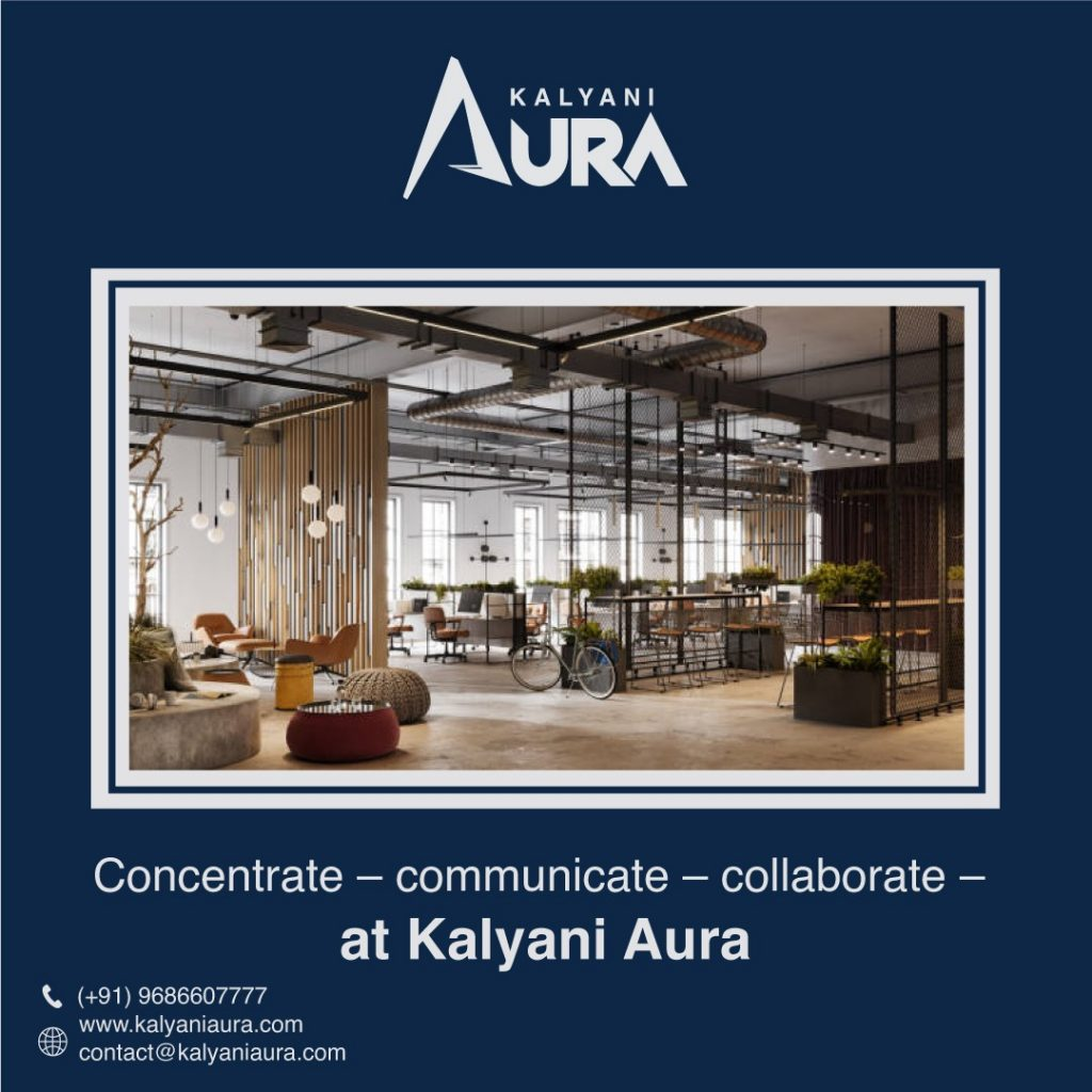 Kalyani aura BRINGING MORE WELLNESS AND FLEXIBILITY IN Managed workspaces